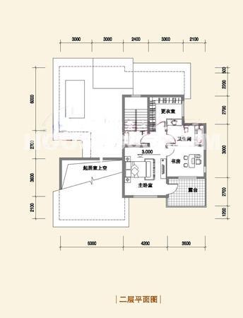 F户型314平方米二层
