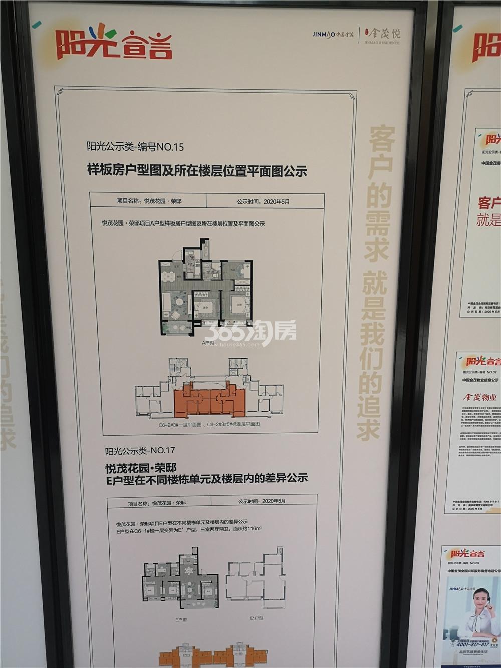 扬子江金茂悦C6地块楼层平面图