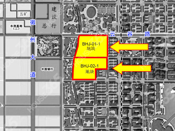 淮矿滨湖地块交通图