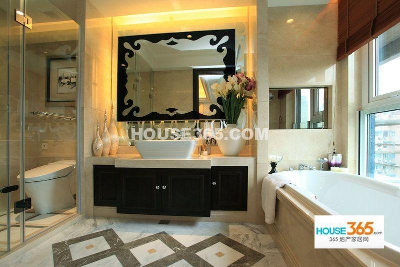新湖武林国际公寓215方样板房-卫浴间