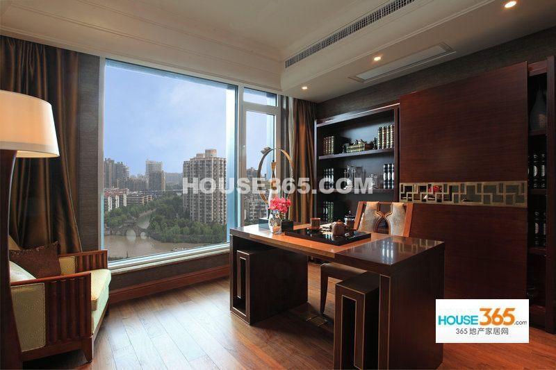 新湖武林国际公寓215方样板房-书房