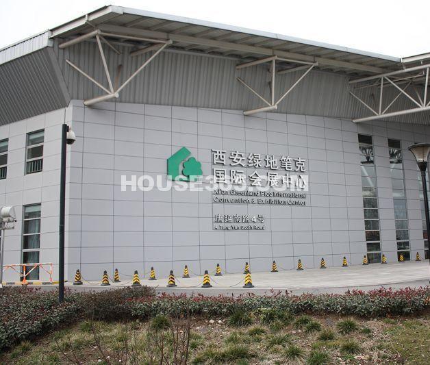 海珀香庭周边绿地笔克会展中心(2012.11.23)