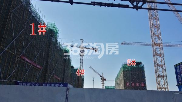 中海熙岸华府1#、4、5楼均建至8层(1.15)