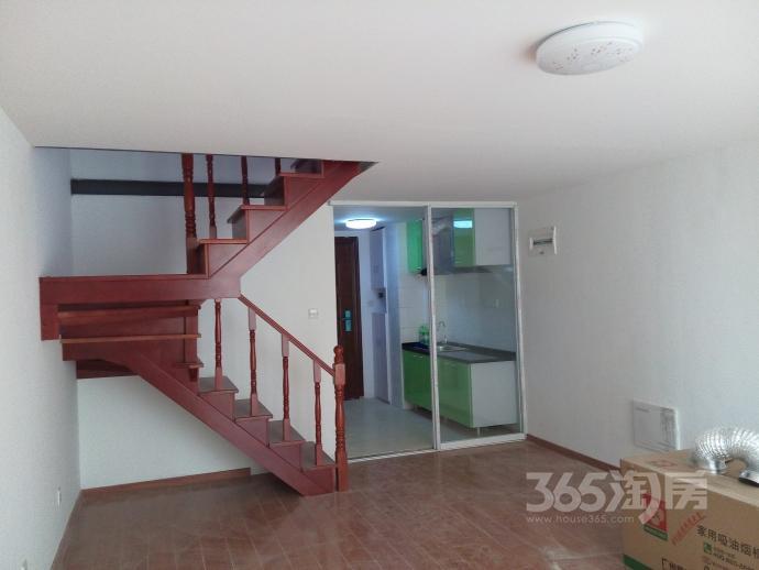 新城香溢紫郡精装挑高公寓两层分隔商住两用