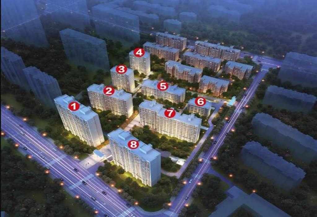 宜海林语棠三期鸟瞰图