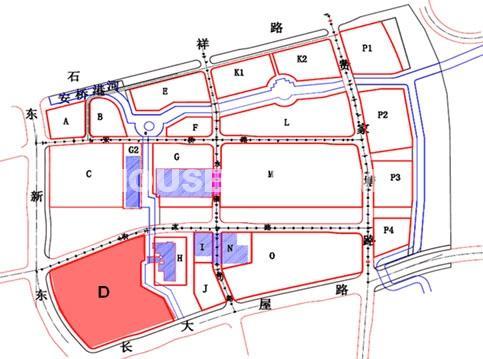 杭州新天地交通图