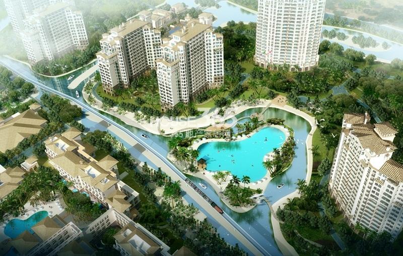 国信龙沐湾一期海景公寓效果图