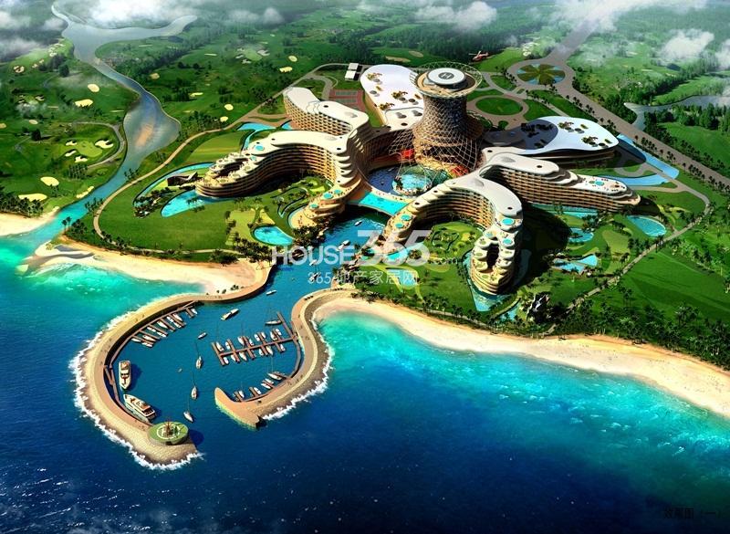 国信龙沐湾八爪鱼酒店效果图