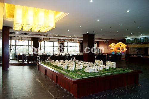 九里香溪销售中心楼盘图