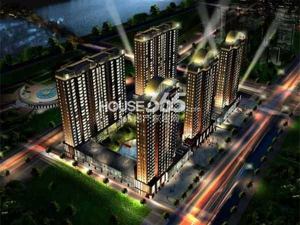 新华国际公寓鸟瞰图