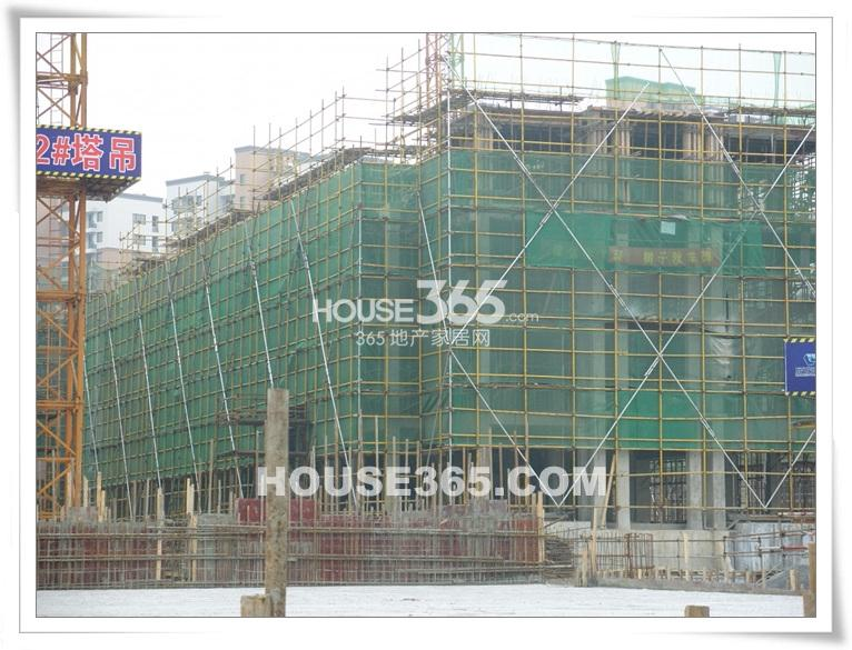 九龙仓君廷项目施工现场(2013.3)