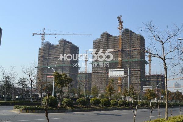 苏宁悦城实景图(2013.3.6)