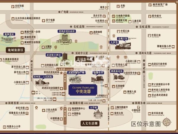 中奥珑郡交通图