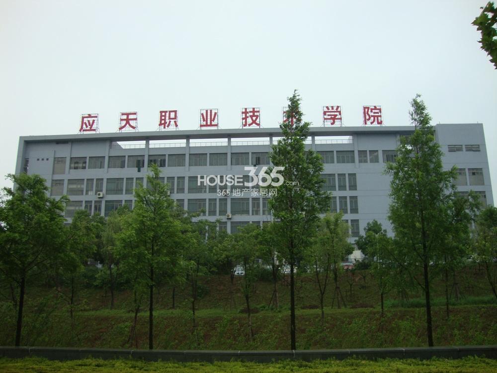 中豪天禄东面1000米的学校实景图(5.15)