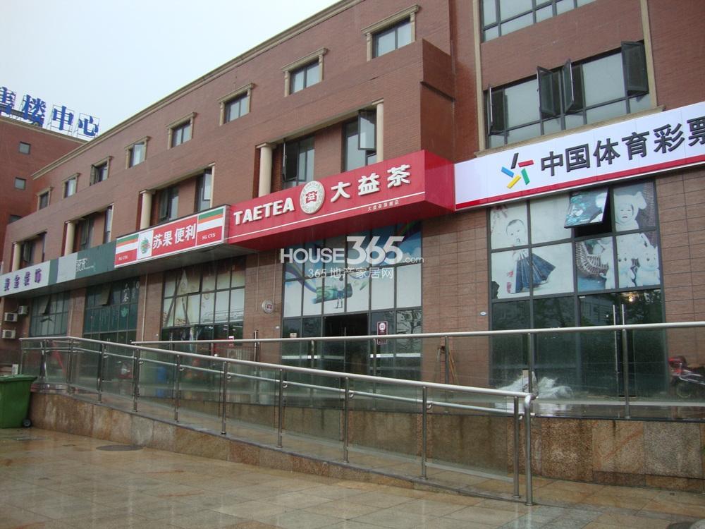 中豪天禄自带商业实景图(5.15)