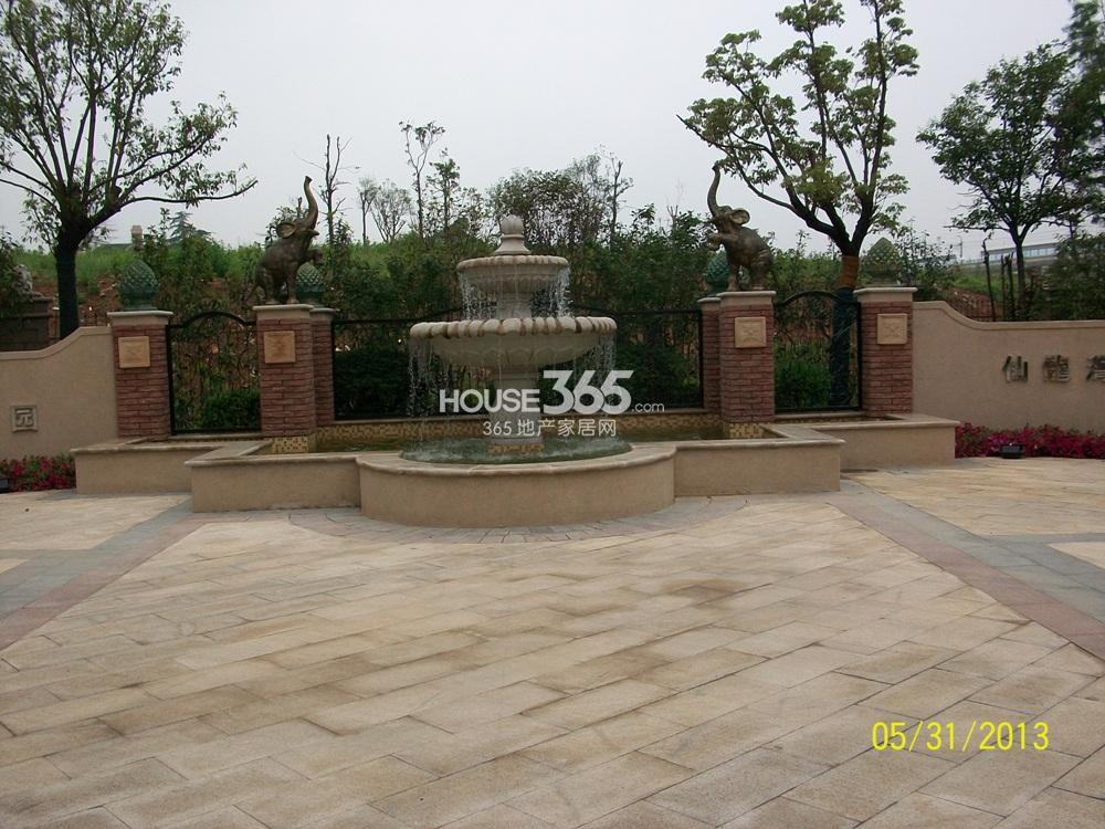 中豪天禄别墅区景观(5.31)