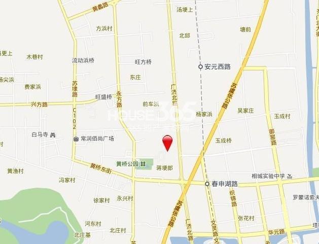 尚景湾交通图