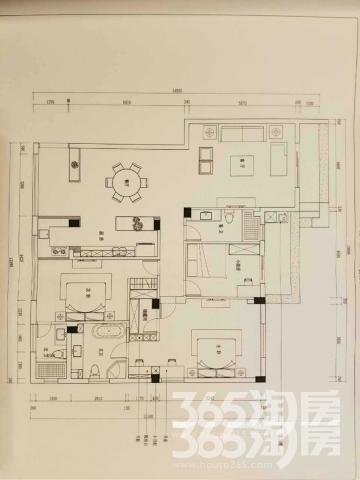 钱江西溪和景3室2厅3卫180�O整租精装