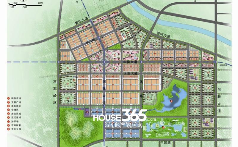合肥华南城区位图