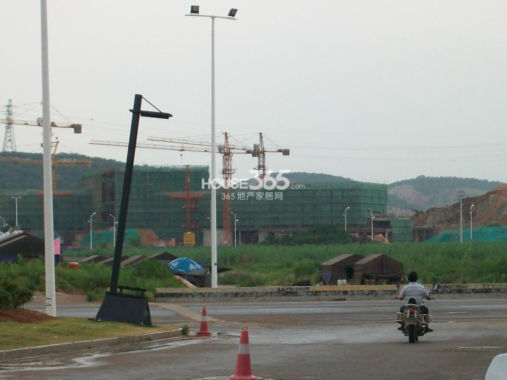高科荣境二期会所施工实景图(7.16)