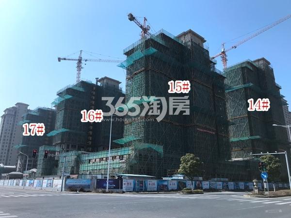 长泰国际社区南B地块14-17#楼高层实景图(2018.3 摄)