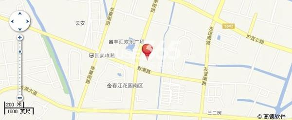 东城中央府交通图