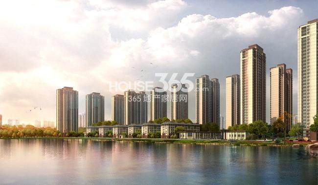 新城玖珑湖效果图