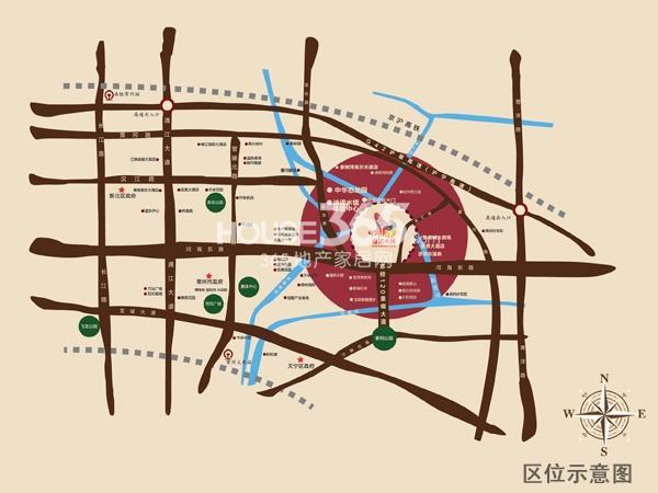 迪诺水镇交通图