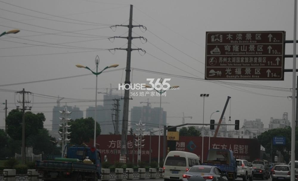 珠江首府实景图