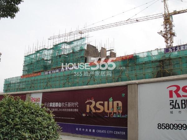 2#工程进度实景图(2013.8.24)