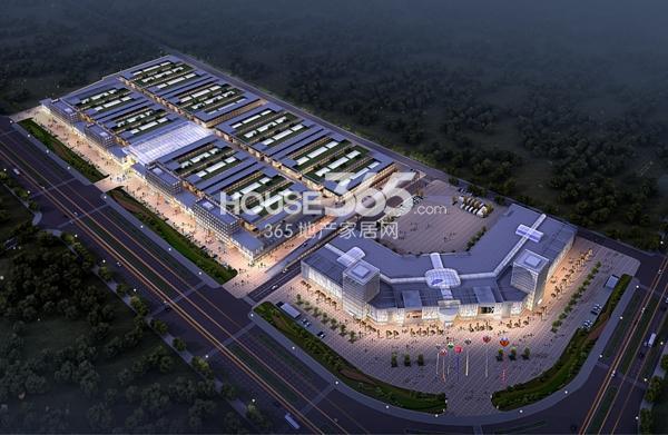 南翔万商(芜湖)国际商贸城鸟瞰图