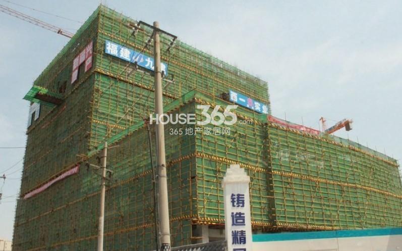 新福兴面孔公社13#楼工程进度(2013.7.31)