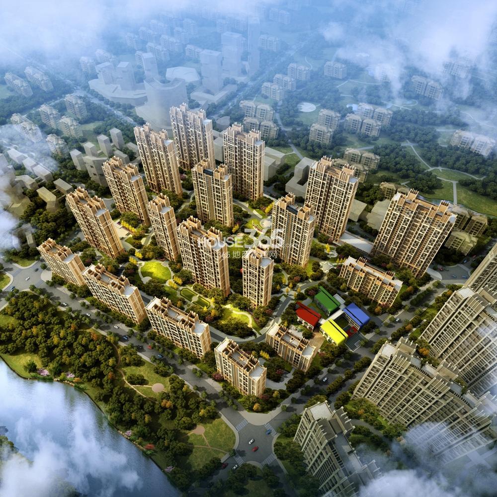 越秀星汇城三期鸟瞰图