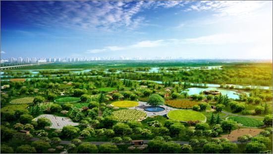 世园大公馆周边浐灞国家湿地公园(2013-09-27 )