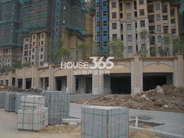 雅居乐滨江国际在建楼栋实景图(9.25)