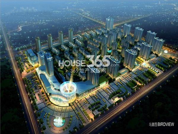 坤博幸福城鸟瞰图