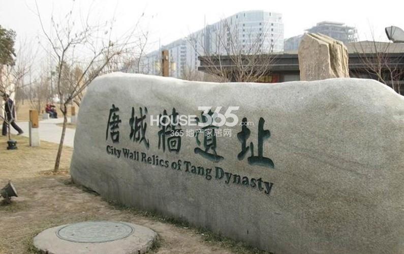 中海紫御华府中海派周边唐城墙遗址公园(2013-04-17)