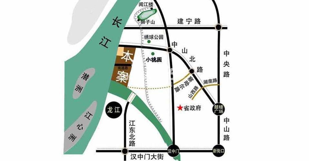 世茂外滩新城交通图