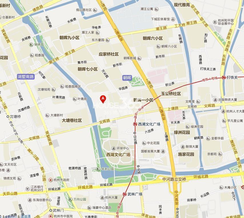 武林外滩交通图