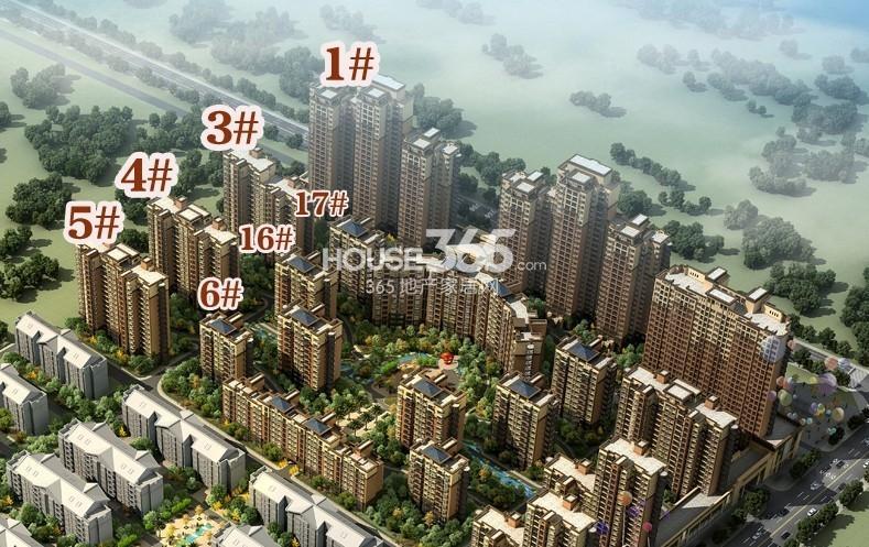 国色天香二期鸟瞰图
