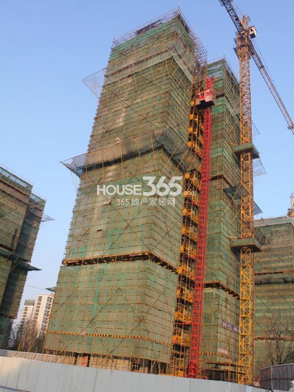 弘阳广场6#楼工程进度(2013.11.5)
