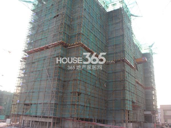 弘阳广场5#楼工程进度(2013.11.5)