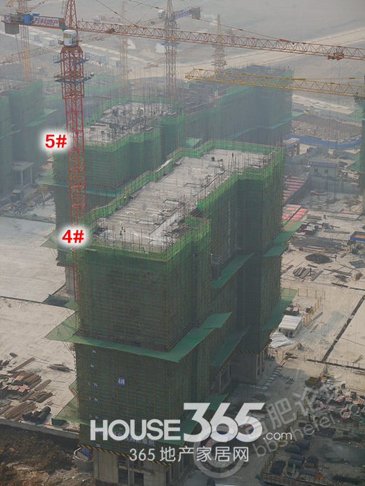 万科森林公园10月工程进度(2013.10.30)