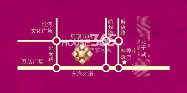 奥园·瀚林银座交通图