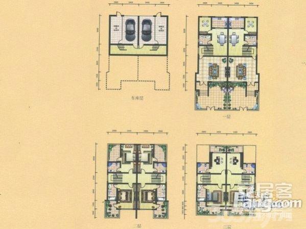 石柱山国际康养城4室2厅3卫289㎡2011年产权房毛坯