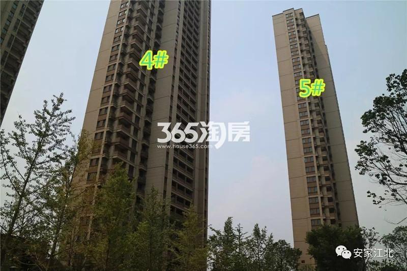 华润国际社区D4、D5#实景图(9.25)