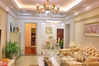 天泽苑2室2厅1卫86平米豪华装产权房2013年建