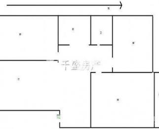 龙庭世家 精装三房 110平 2楼 地铁口 交通方便 随时看房
