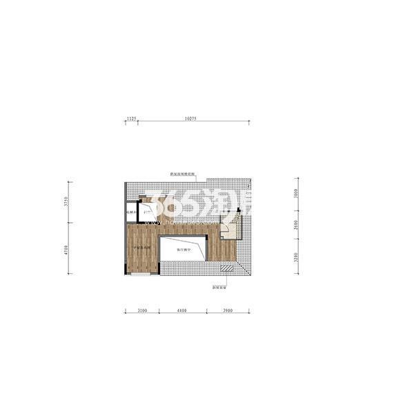 (1T2)122平三室小洋房边户顶层阁楼(全赠送)