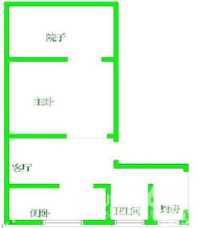 玄武区红山曹后村10号0室0厅户型图